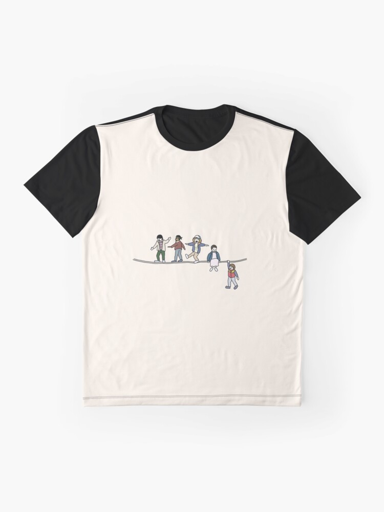 Alternate view of Stranger Things: The Acrobats and the Fleas Graphic T-Shirt