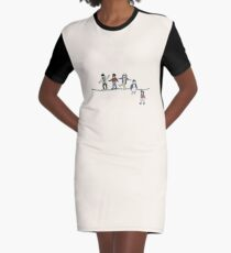 Stranger Things: The Acrobats and the Fleas Graphic T-Shirt Dress