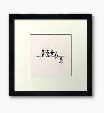 Stranger Things: The Acrobats and the Fleas Framed Print