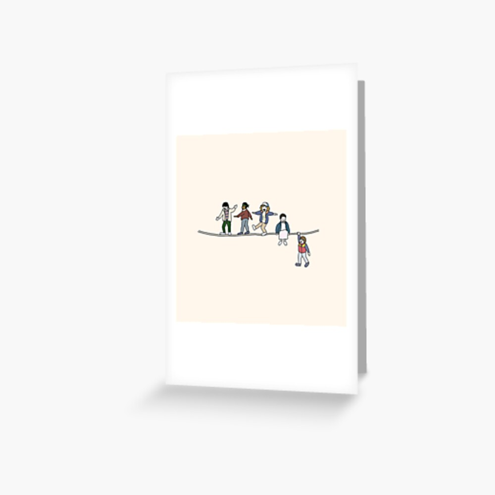 Stranger Things: The Acrobats and the Fleas Greeting Card