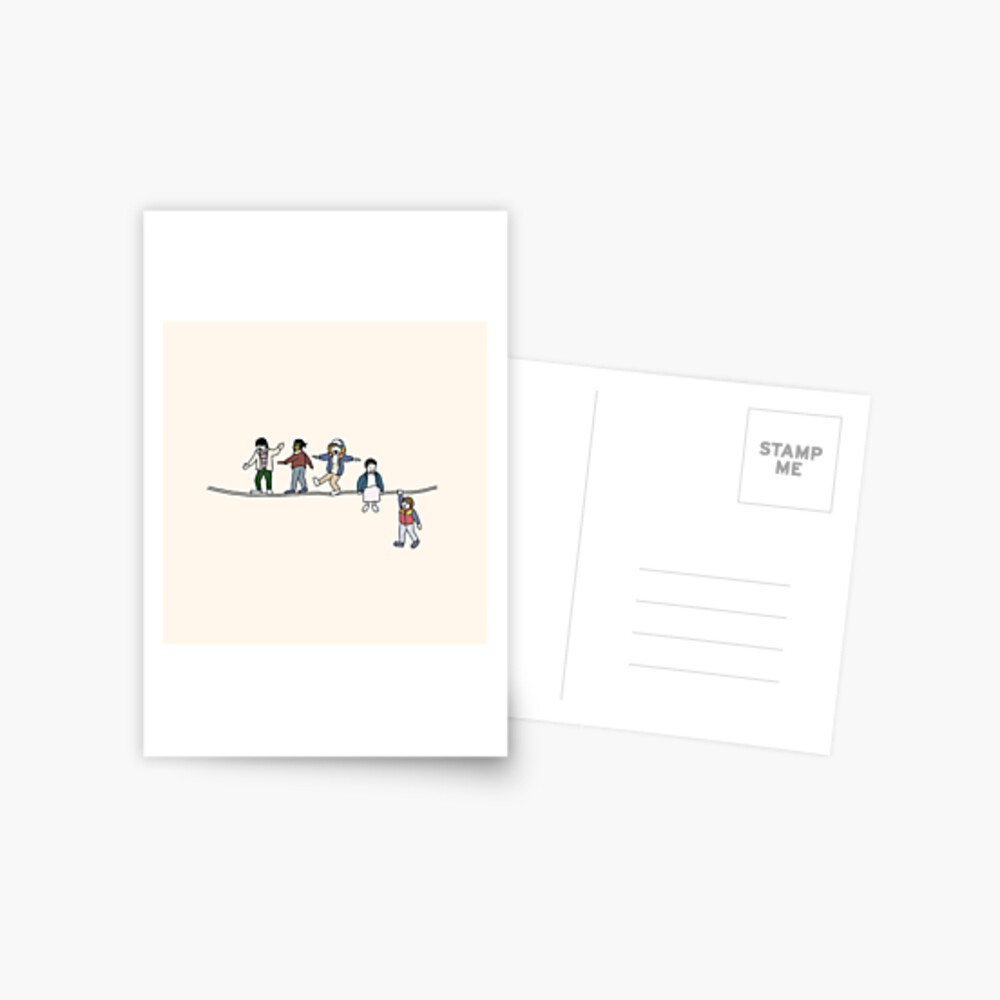 Stranger Things: The Acrobats and the Fleas Postcard