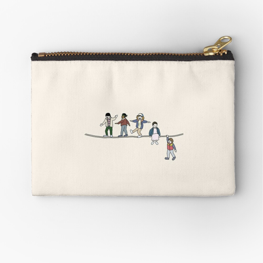 Stranger Things: The Acrobats and the Fleas Zipper Pouch