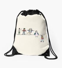 Stranger Things: The Acrobats and the Fleas Drawstring Bag