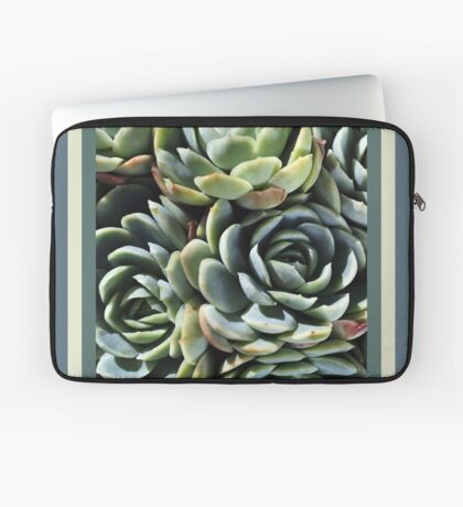 World Of The Succulent Laptop Sleeve