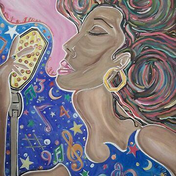 Lady Sings  by deemilton