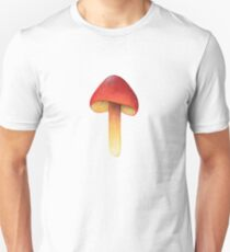 Hygrocybe punicea (Scarlet Waxy Cap) Unisex T-Shirt