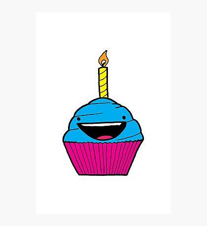 Happy Cupcake Photographic Print