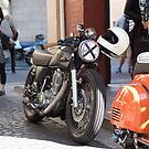 Yamaha SR400 by Andre Gascoigne