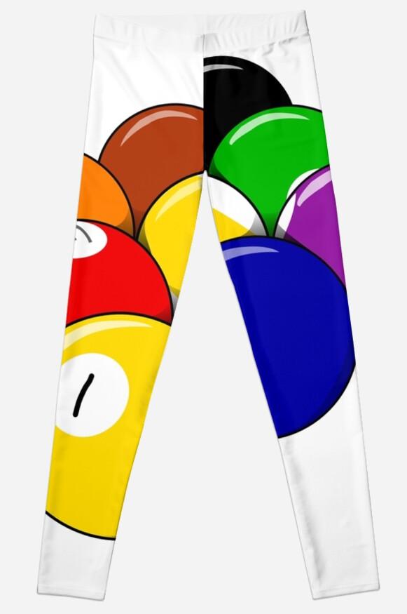 Legging «Mi juego es un billar de 9 bolas Pool Shark» de Nelis ... d3adecdb9a826