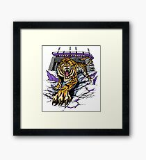 Tiger Stadium Framed Print