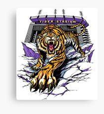 Tiger Stadium Canvas Print