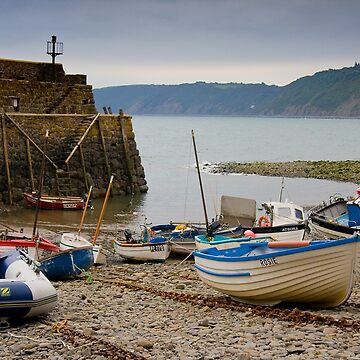 Clovelly Harbour by AndreGascoigne