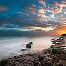 Sunset Walking  by manateevoyager