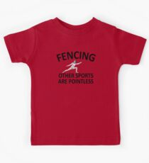 Fencing Other Sports Pointless Kids Clothes