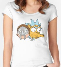 Mf Morty and MADRICK Women's Fitted Scoop T-Shirt