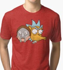 Mf Morty and MADRICK Tri-blend T-Shirt
