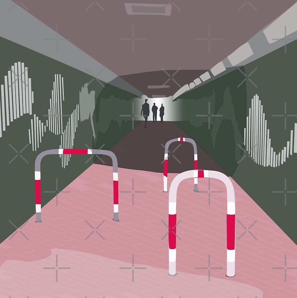0104 Bicycle slow through tunnel by reapolo