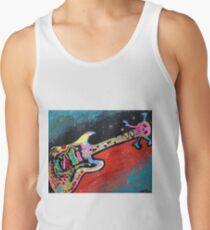 Space Guitar Tank Top