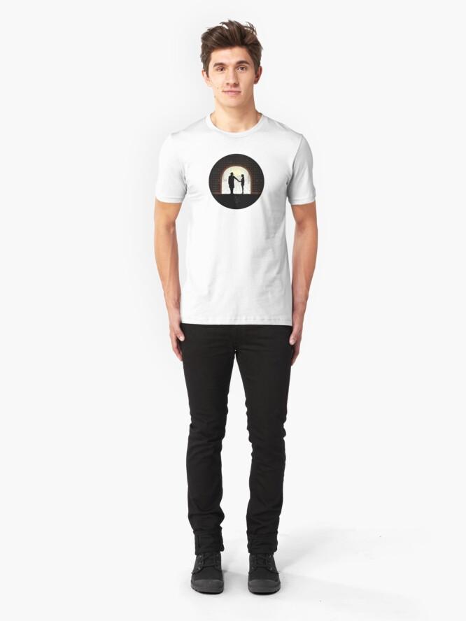 Alternate view of Tea Room Version 2 Slim Fit T-Shirt