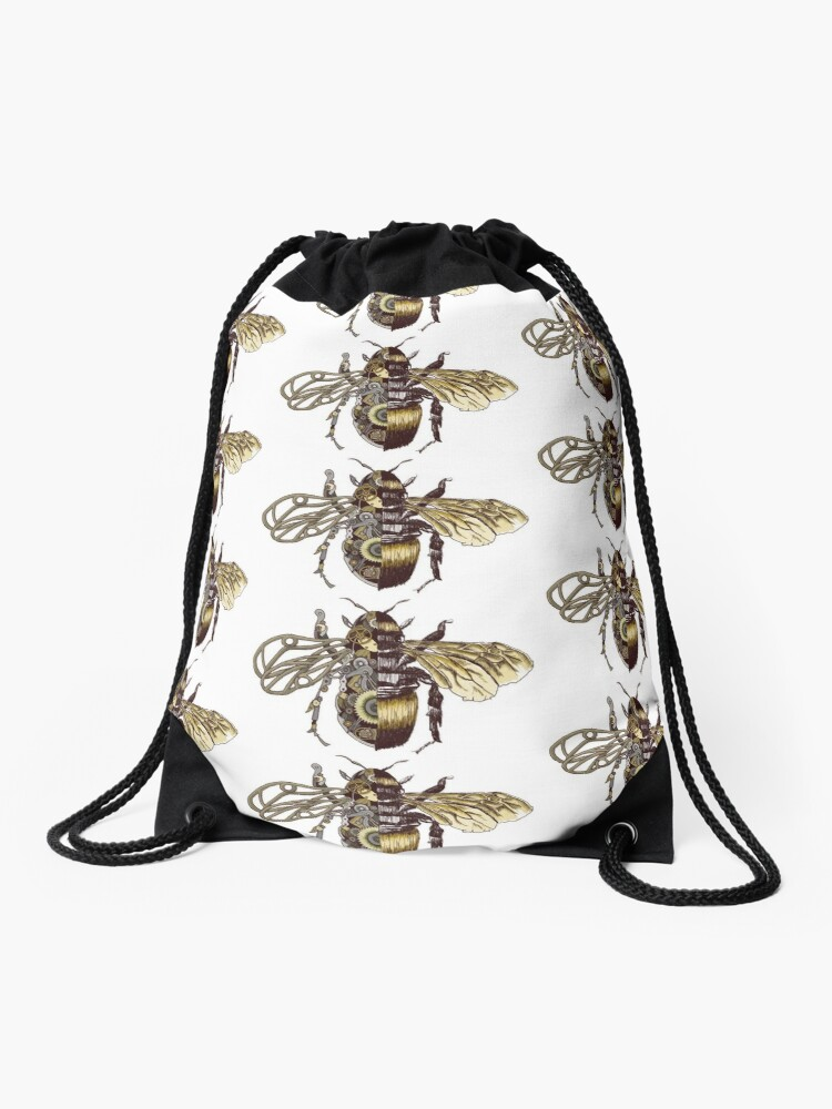 Small Purse The Bees And White Flower Marvellous Coin Purse for Girls