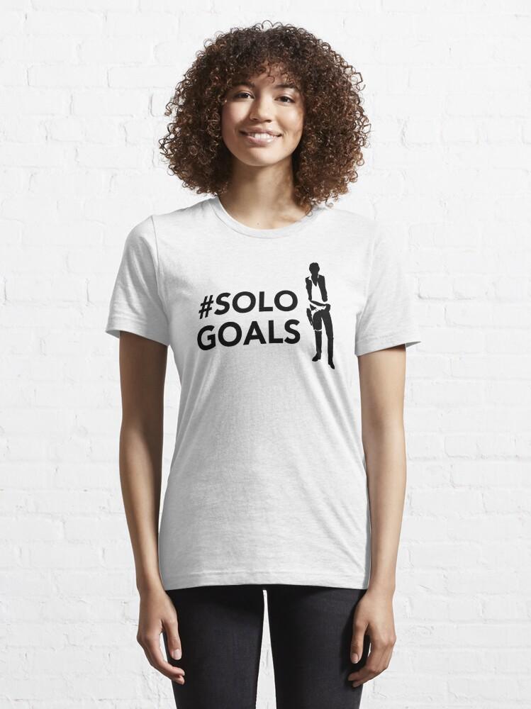 Alternate view of Singular Goals Essential T-Shirt