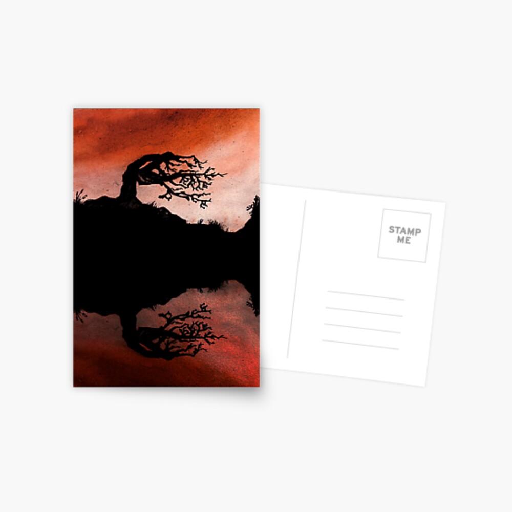 Fire Tree Postcard
