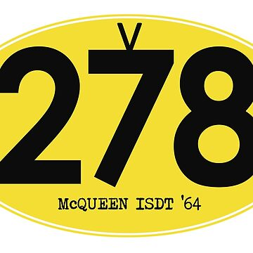 278 McQueen ISDT 1964 by rogue-design