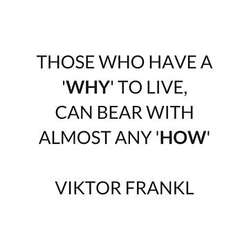 VIKTOR FRANKL QUOTE  by IdeasForArtists