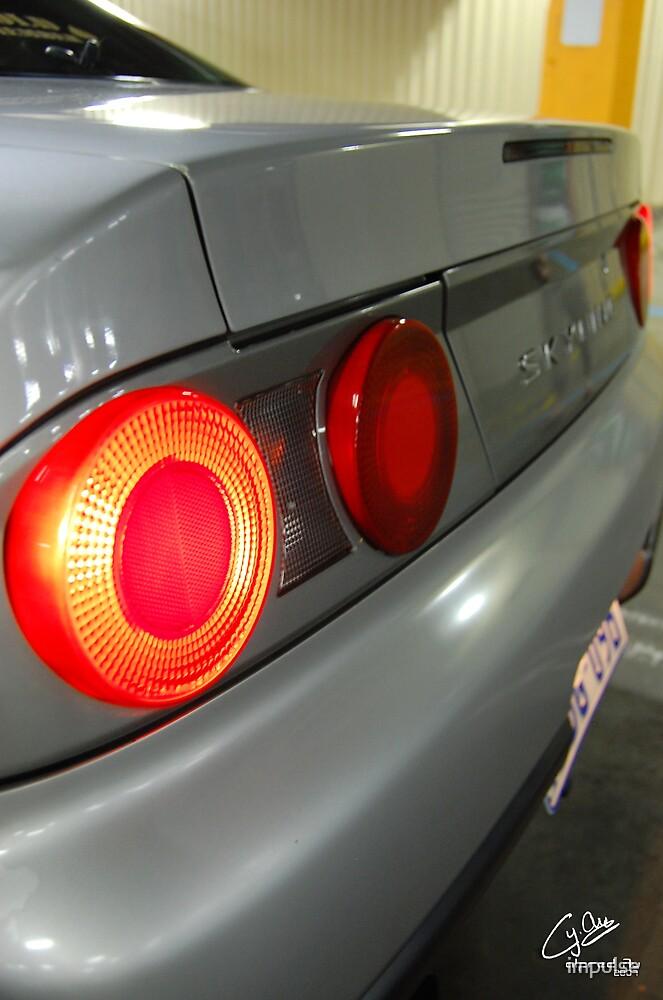 Nissan Skyline Sedan R33 Rear by impulse