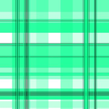 Light Green and Gray Plaid by PharrisArt