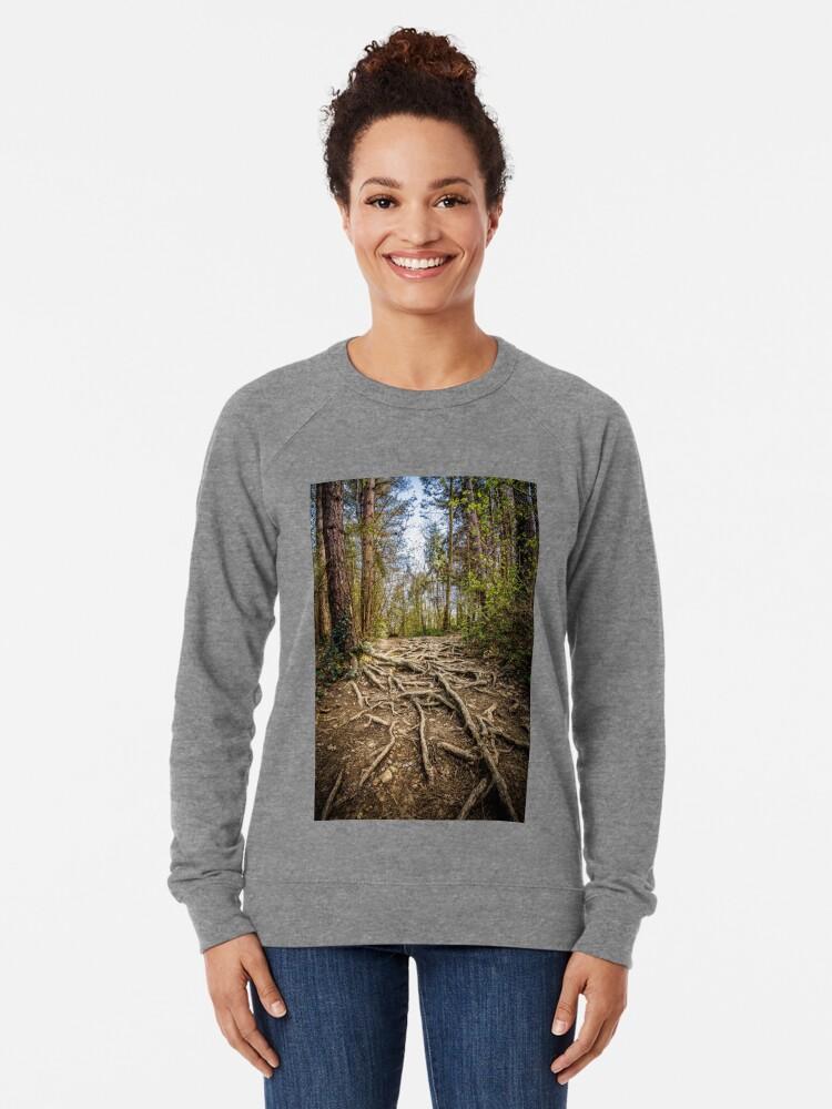 Alternate view of Spaghetti Junction Lightweight Sweatshirt