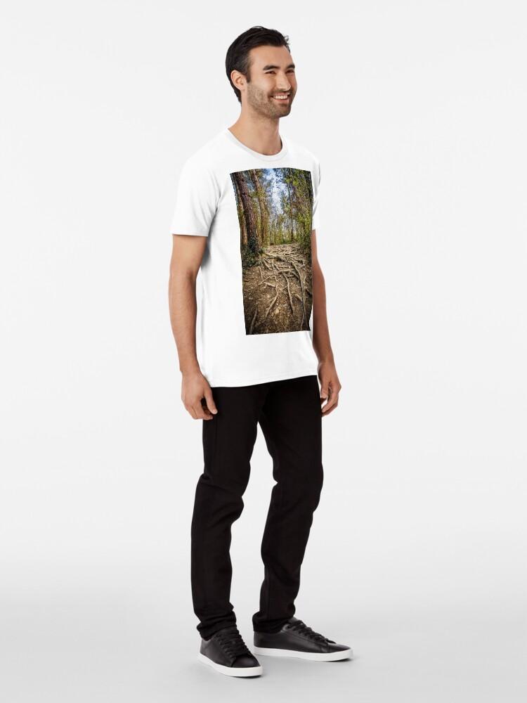 Alternate view of Spaghetti Junction Premium T-Shirt