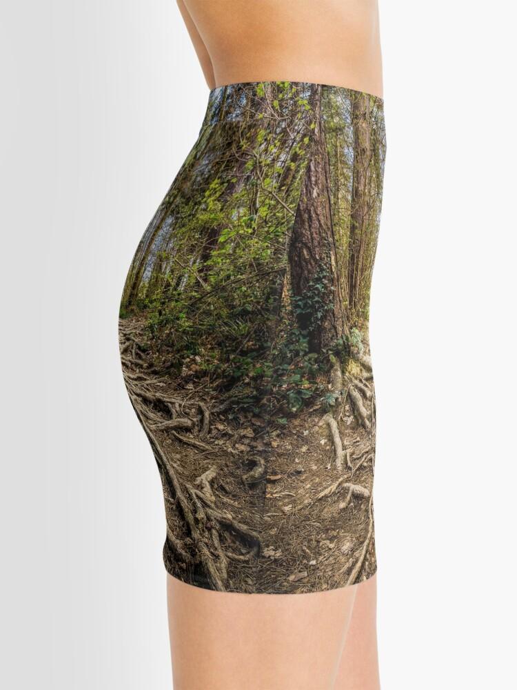 Alternate view of Spaghetti Junction Mini Skirt