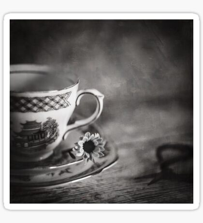Vintage Teacup Still Life Sticker