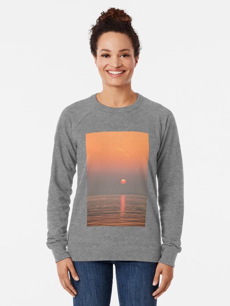 Alternate view of Pastel Solent Sunrise Lightweight Sweatshirt