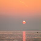 Pastel Solent Sunrise by manateevoyager
