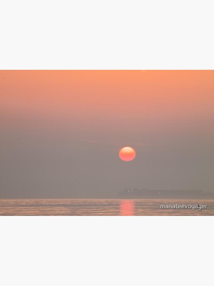 Pastel Solent Sunrise by manateevoyager