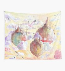 Three worlds Wall Tapestry