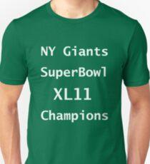New York Giants Unisex T-Shirt
