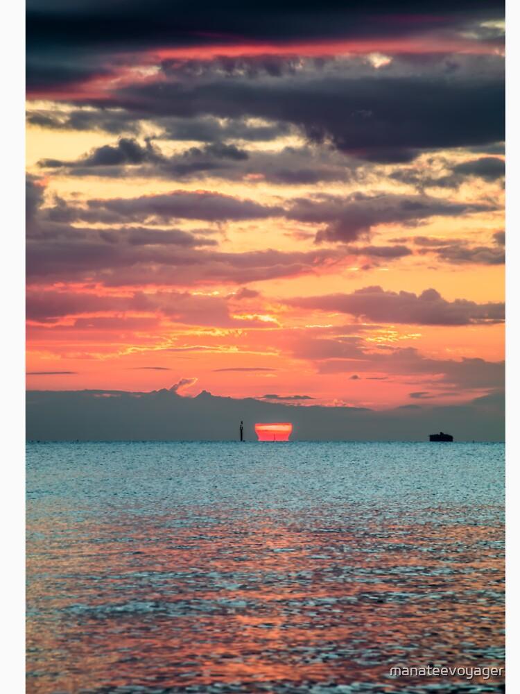 Solent Sunrise by manateevoyager