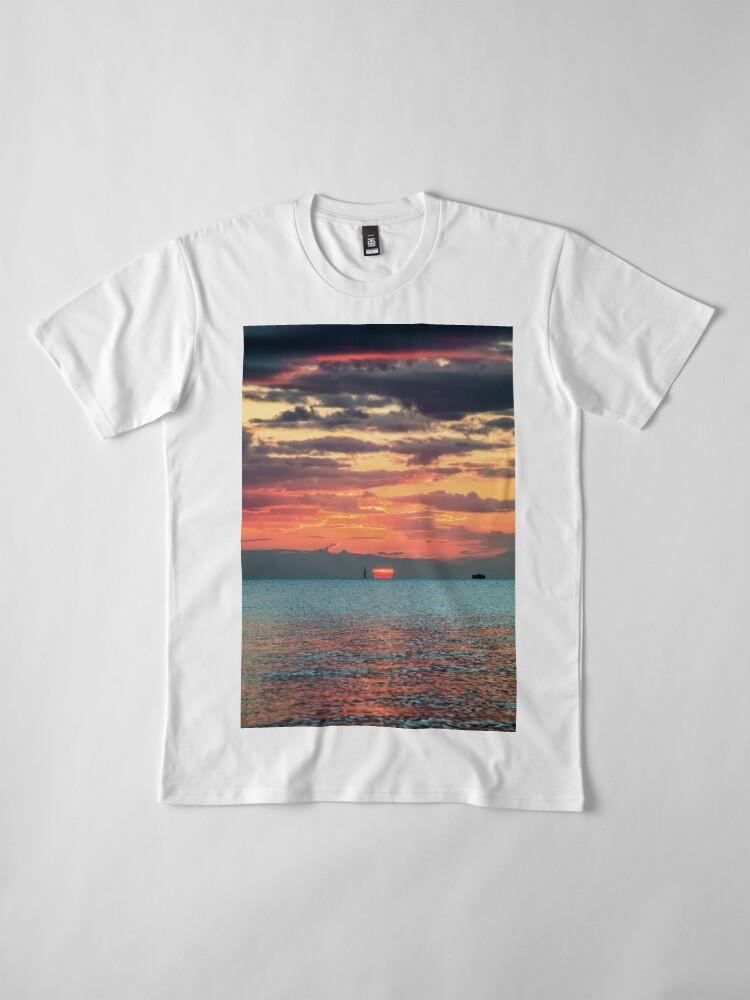 Alternate view of Solent Sunrise Premium T-Shirt