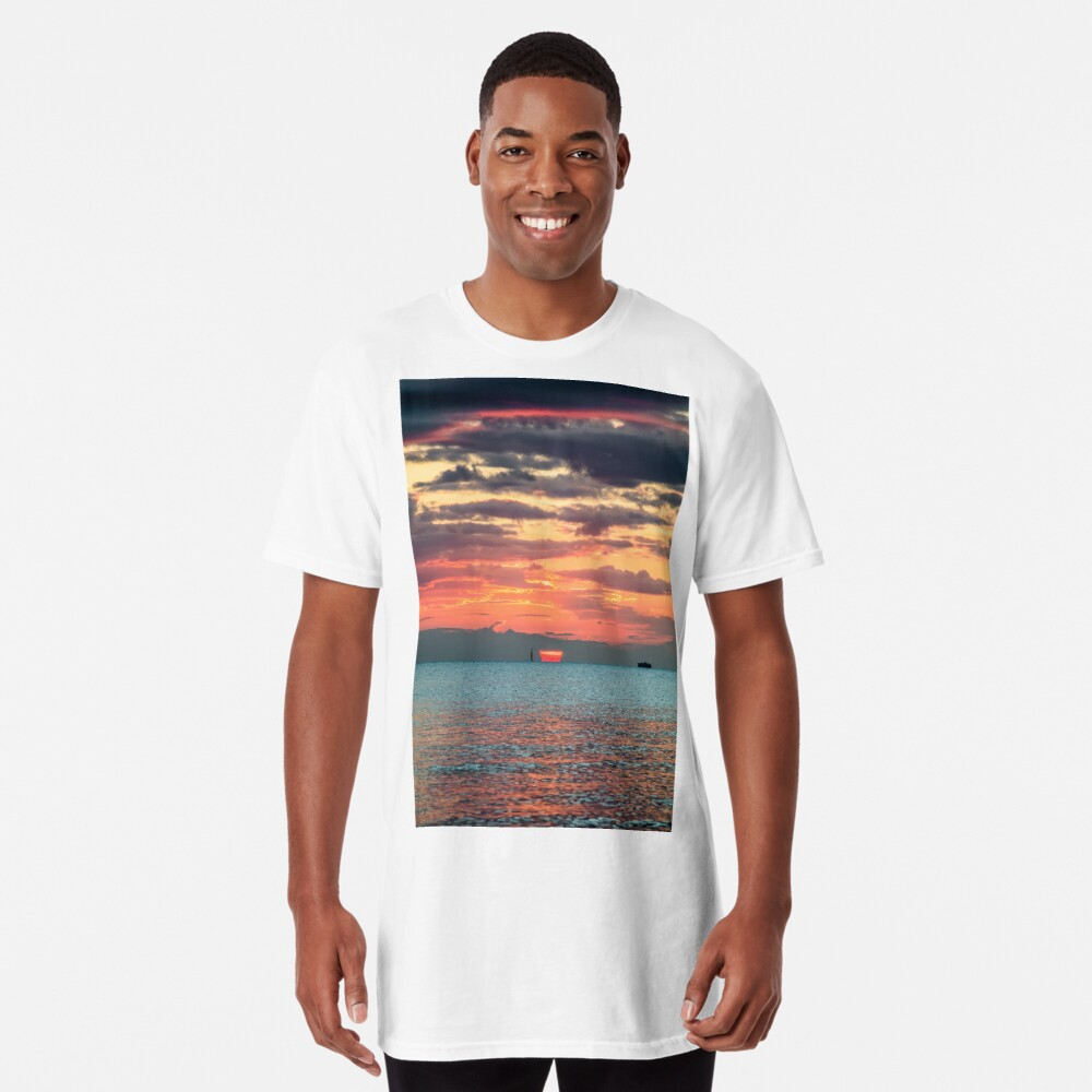 Solent Sunrise Long T-Shirt