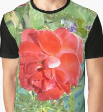 Rose of Red Graphic T-Shirt