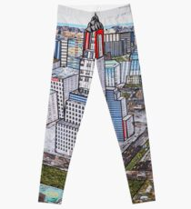 New York on my mind - (Chrysler Building) Leggings