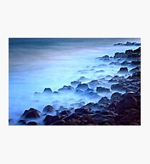 0047 Black Rocks Photographic Print