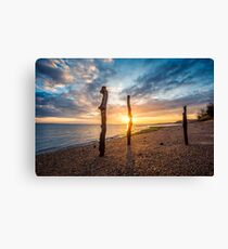 Woodside Bay Sunrise Canvas Print