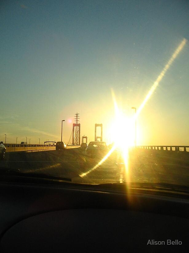 on the way to Philadelphia.. by Alison Bello