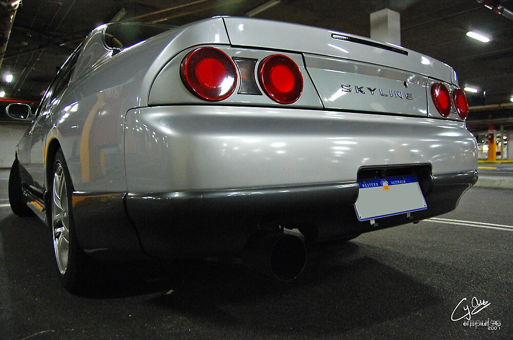 Nissan Skyline Sedan Rear by impulse