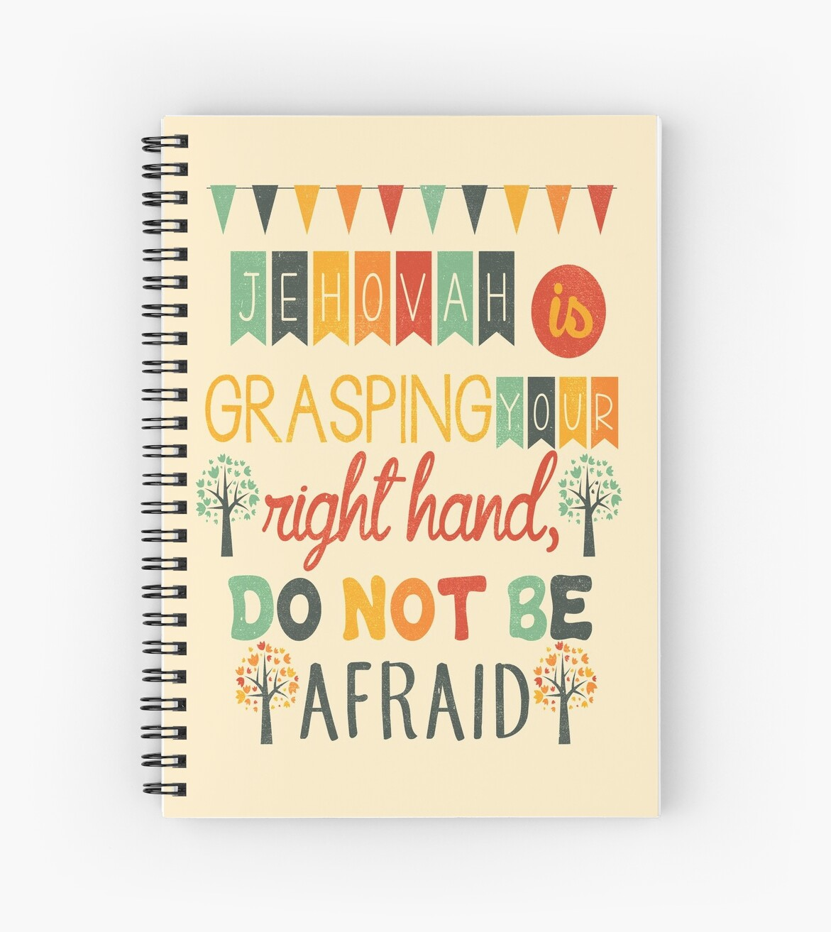 Quot Don T Be Afraid Quot Spiral Notebooks By Jw Arts Amp Crafts