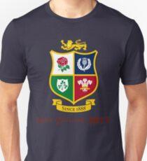 British Lions 2017 Zew Zealand Rugby Union Unisex T-Shirt